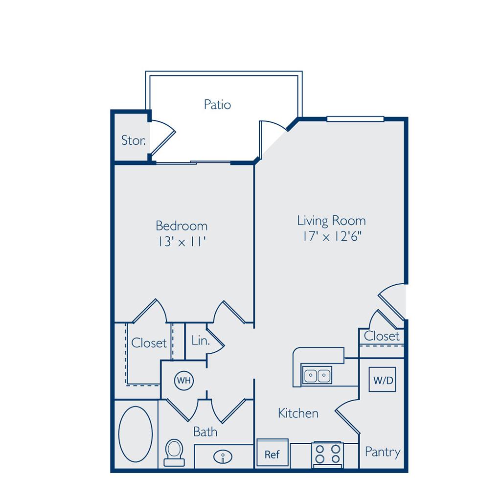 Floor Plan of Bell Apex