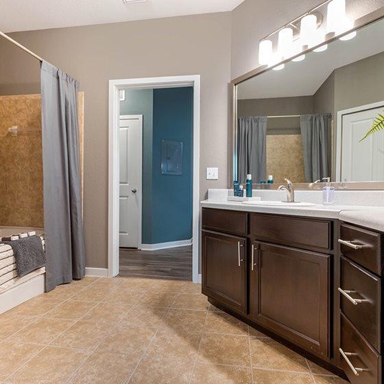 Peak Suites luxury bathroom