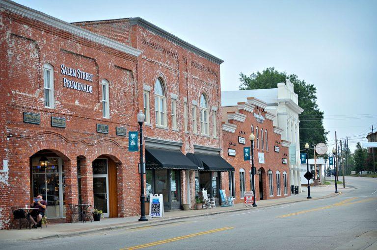Downtown Apex historic buildings