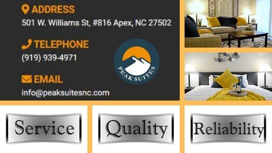 Peak Suites Service Quality Reliability