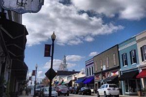 Downtown Apex, North Carolina