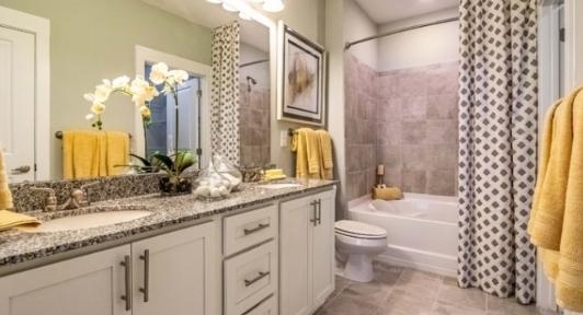 Bathroom Gold Colored Towels