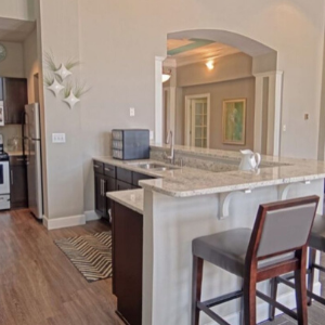 Kitchen at Wakefield Glen Luxury Apartments