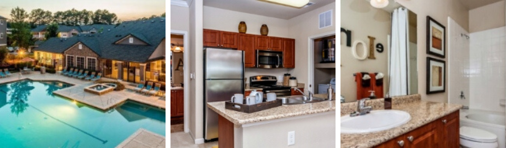 Peak Suites Cary Centerview at Crossroads Floor Plan Options