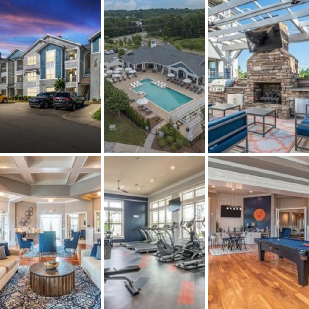 Peak Suites Raleigh Crest at Brier Creek Outside Photos Building Pool Seating Indoor Photos Lounge Gym Billiards Room